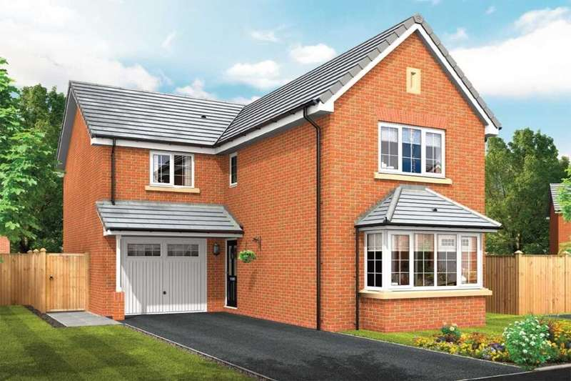 3 Bedrooms Detached House for sale in Squirrels Chase Off Chestnut Avenue, Shavington, Crewe, CW2