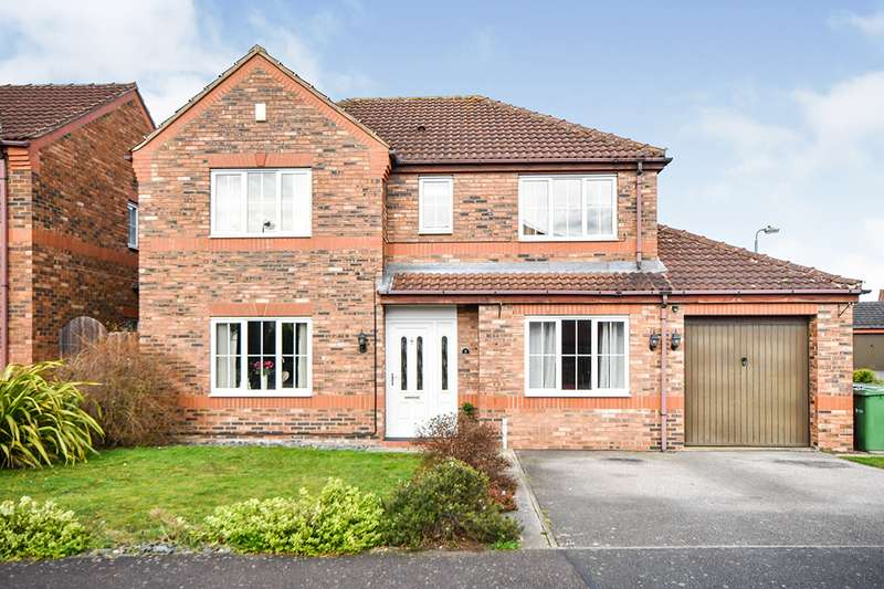 4 Bedrooms Detached House for sale in Rivermead Close, Lincoln, Lincolnshire, LN6