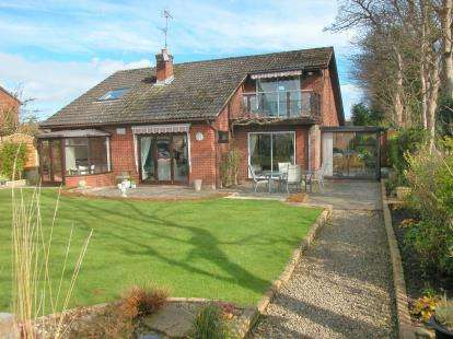 4 Bedrooms Detached House for sale in Moorings Close, Parkgate, Neston, Cheshire, CH64