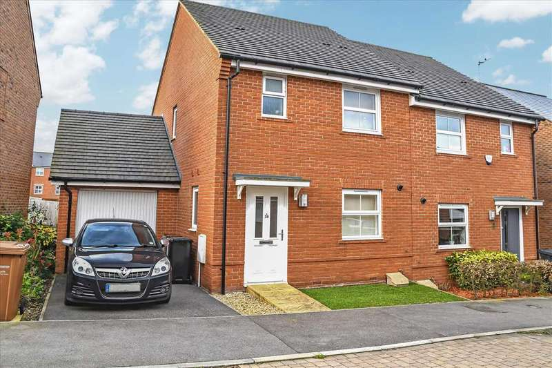 3 Bedrooms Semi Detached House for sale in Tailor Close, Andover