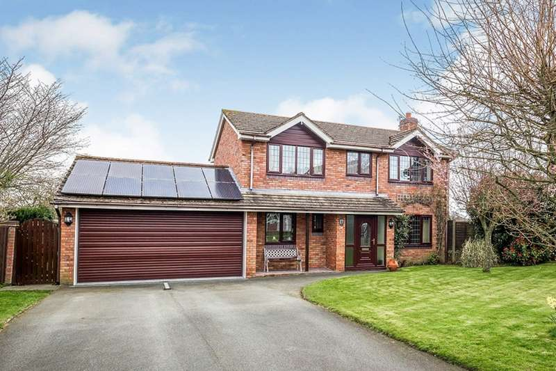4 Bedrooms Detached House for sale in 17 Rhewl Lane, Rhewl, Gobowen, Oswestry, Shropshire, SY10