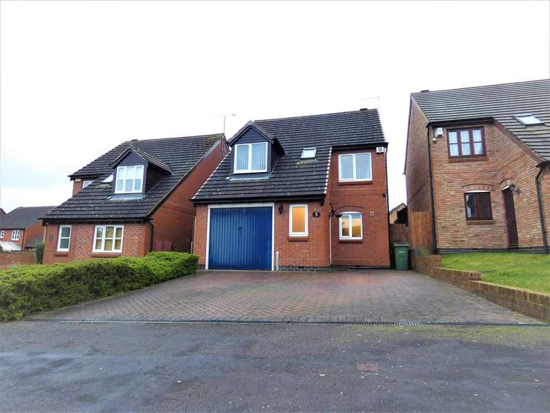 3 Bedrooms Detached House for sale in Devonia Road, Oadby, Leicester