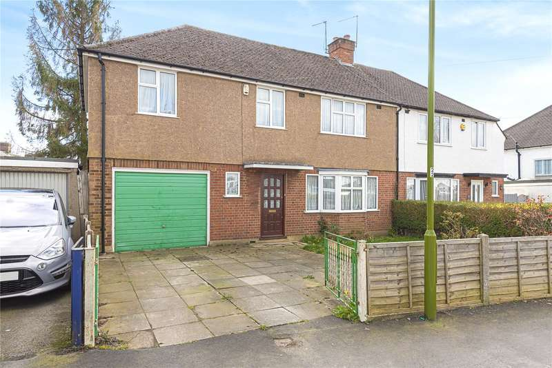 5 Bedrooms Semi Detached House for sale in Tudor Way, Mill End, Rickmansworth, Hertfordshire, WD3
