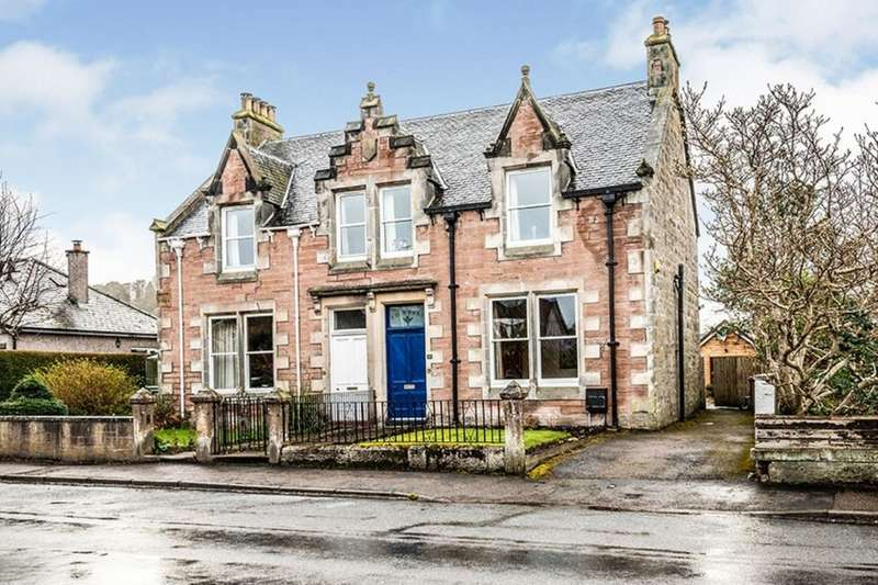 4 Bedrooms Semi Detached House for sale in Ballifeary Road, Inverness, Highland, IV3