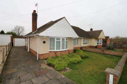 2 Bedrooms Bungalow for sale in Brampton Way, Oadby, Leicester, Leicestershire