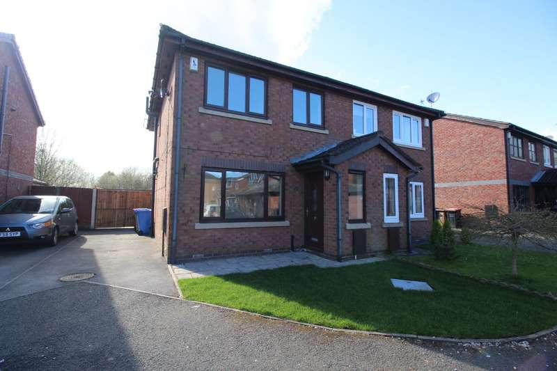 3 Bedrooms Semi Detached House for sale in Eastcombe Avenue, Salford, Greater Manchester, M7