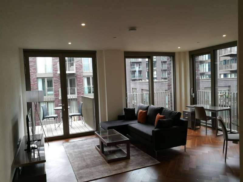 2 Bedrooms Flat for sale in Capital Building, Embassy Gardens, 5 New Union Square, Nine Elms, London SW11