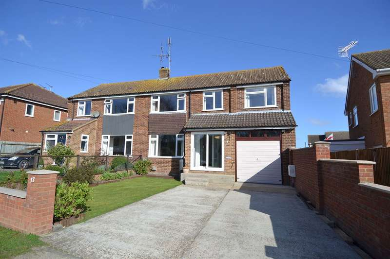 4 Bedrooms Semi Detached House for sale in Ridgeway, South Tankerton, Whitstable