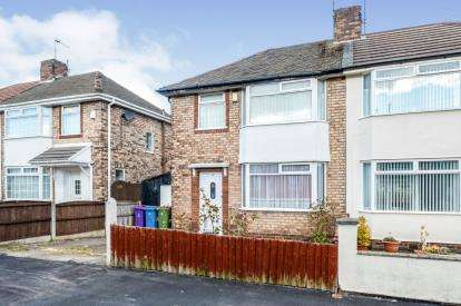 3 Bedrooms Semi Detached House for sale in Gregory Way, Childwall, Liverpool, Merseyside, L16