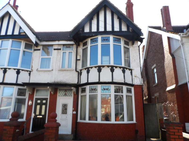 4 Bedrooms Semi Detached House for sale in Kensington Road, Blackpool, FY3 9DU