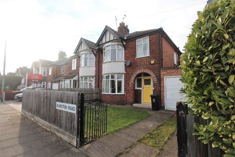 3 Bedrooms Semi Detached House for sale in Alvaston Road, Braunstone, LE3