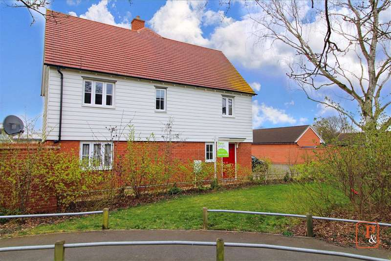 4 Bedrooms End Of Terrace House for sale in Henry Everett Grove, Colchester, CO2