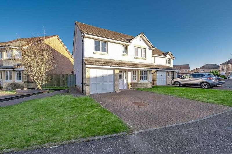 4 Bedrooms Detached House for sale in Crozier Crescent, Larbert