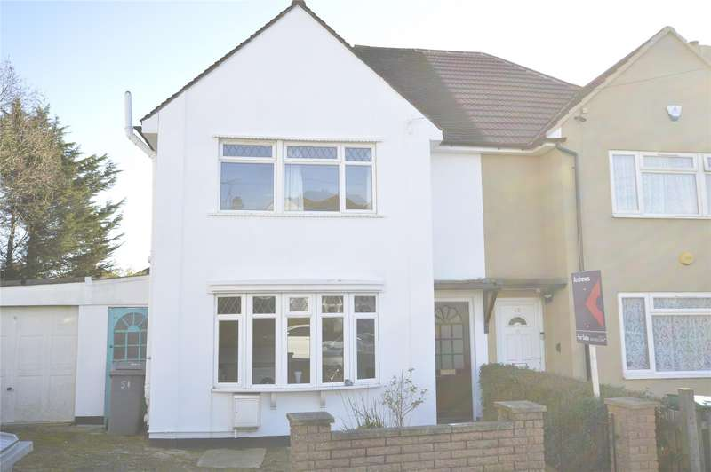 2 Bedrooms Semi Detached House for sale in Highmeadow Crescent, KINGSBURY, NW9