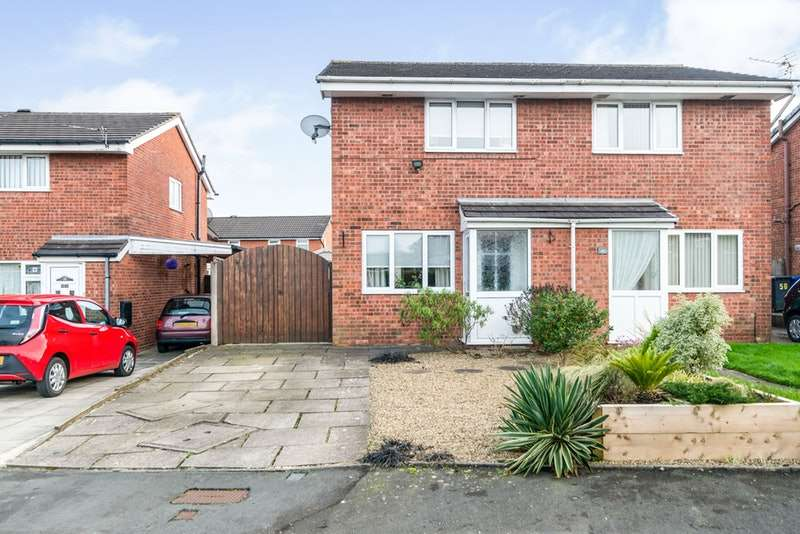 2 Bedrooms Semi Detached House for sale in Kirkstile Crescent, Wigan, Greater Manchester, WN3