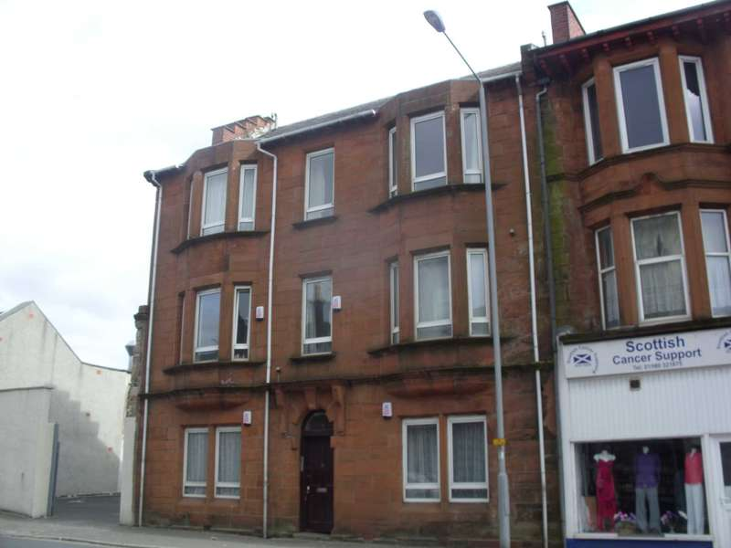2 Bedrooms Flat for rent in High Glencairn Street, Kilmarnock