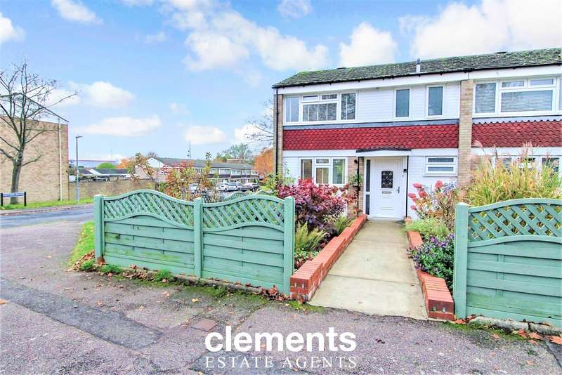 3 Bedrooms End Of Terrace House for sale in Grove Hill, Hemel Hempstead