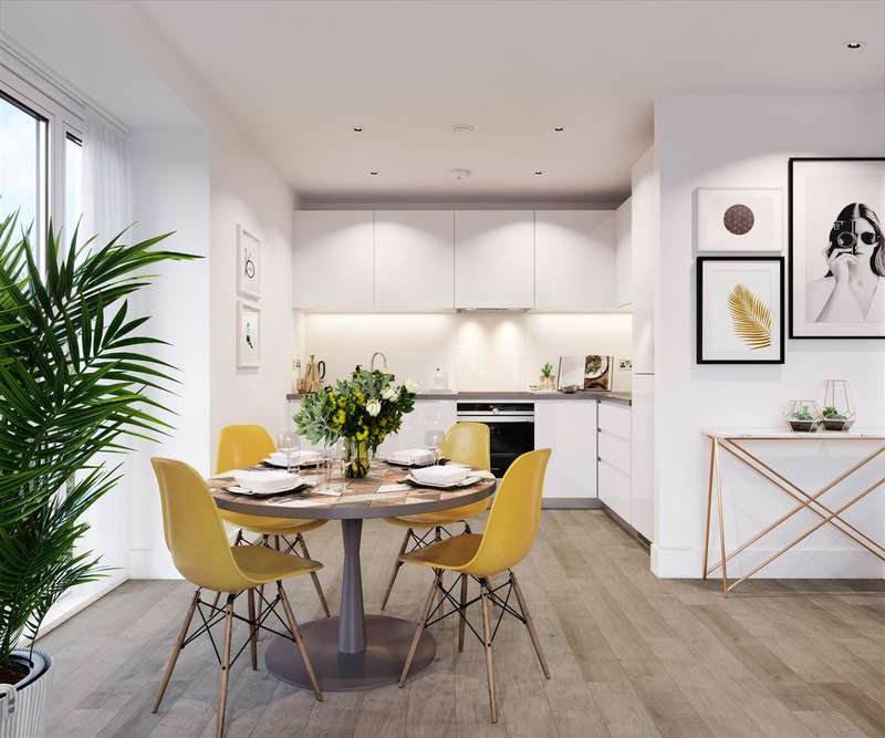 1 Bedroom Apartment Flat for sale in Fairwood Place, Station Road, Borehamwood
