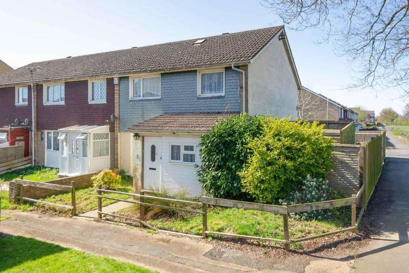 3 Bedrooms End Of Terrace House for sale in Bredgar Close, Ashford, TN23