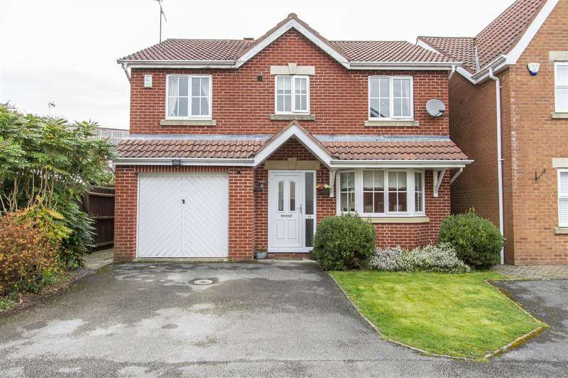 4 Bedrooms Detached House for sale in Joseph Fletcher Drive, Wingerworth, Chesterfield