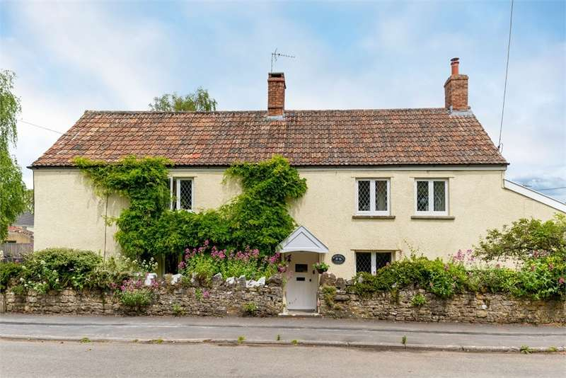4 Bedrooms Cottage House for sale in Waterfall Cottage, Sparrow Hill Way, WEARE, Somerset