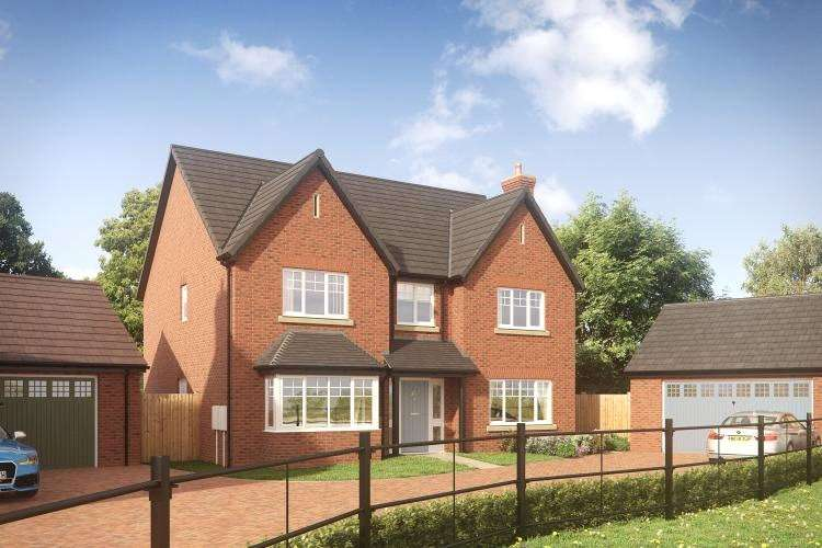 5 Bedrooms Detached House for sale in The Camberwell, Plot 27, Earls Keep, High Ercall, Telford, TF6