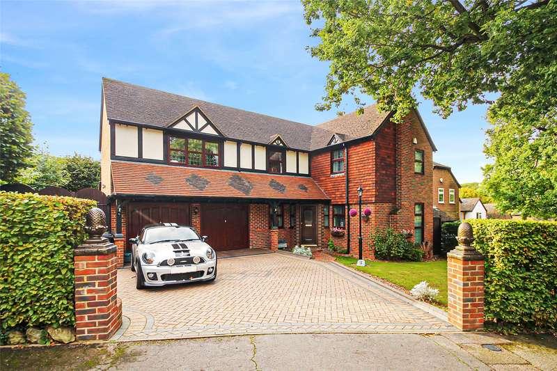4 Bedrooms Detached House for sale in Sadlers Close, Walderslade, Chatham, Kent, ME5