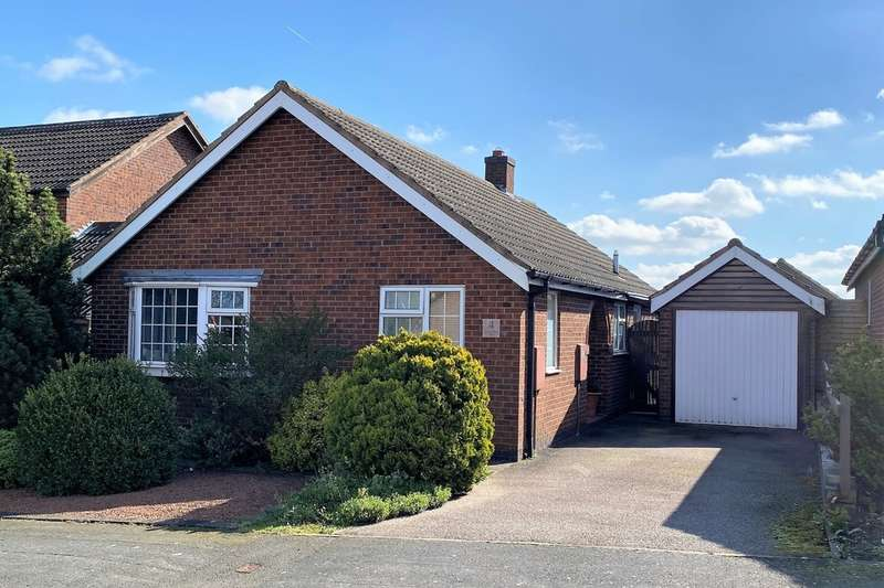 2 Bedrooms Detached Bungalow for sale in Winchester Drive, Melton Mowbray