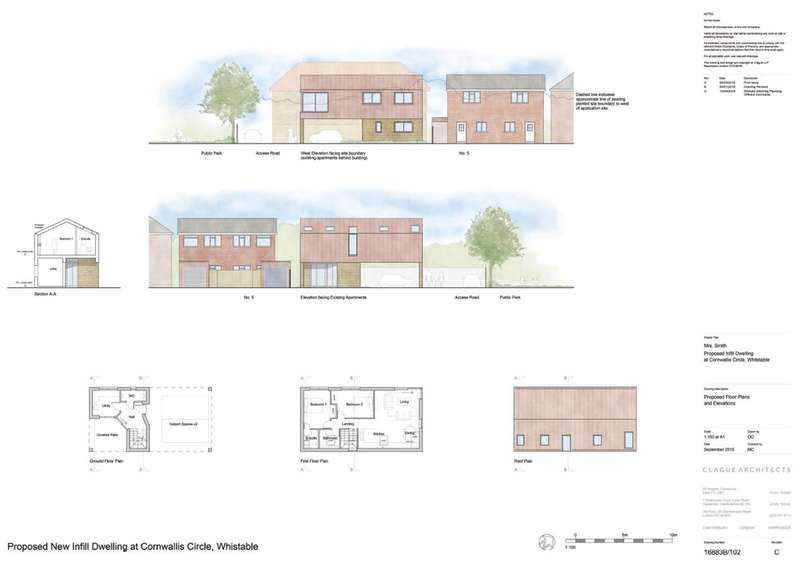 Land Commercial for sale in Cornwallis Circle, Whitstable