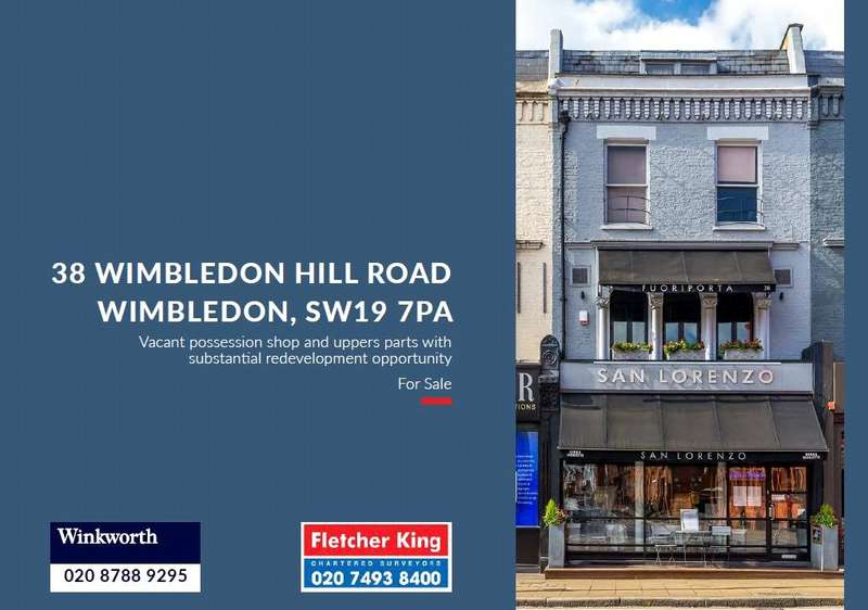 Plot Commercial for sale in Wimbledon Hill Road, London, SW19