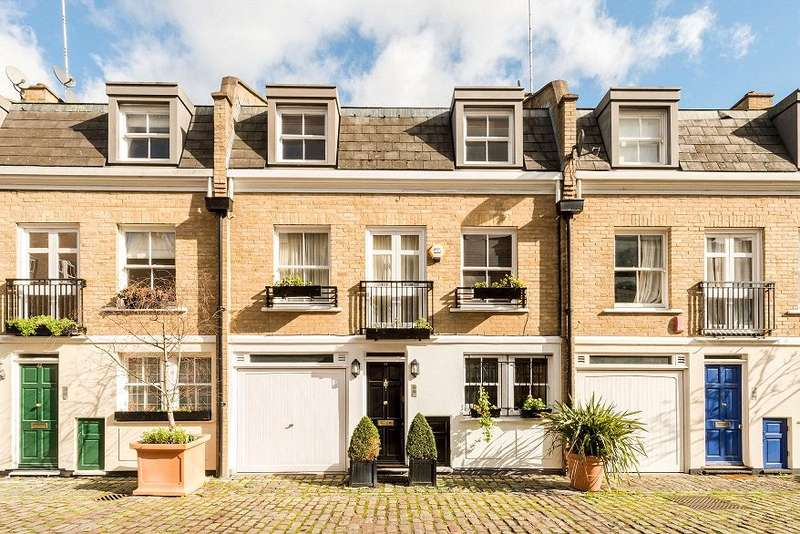 3 Bedrooms Terraced House for sale in Elnathan Mews, Maida Vale, London, W9