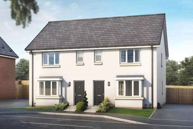 3 Bedrooms Semi Detached House for sale in The Buchanan, Ravenscraig, Plot 110, The Castings, Meadowhead Road, Ravenscraig, Wishaw