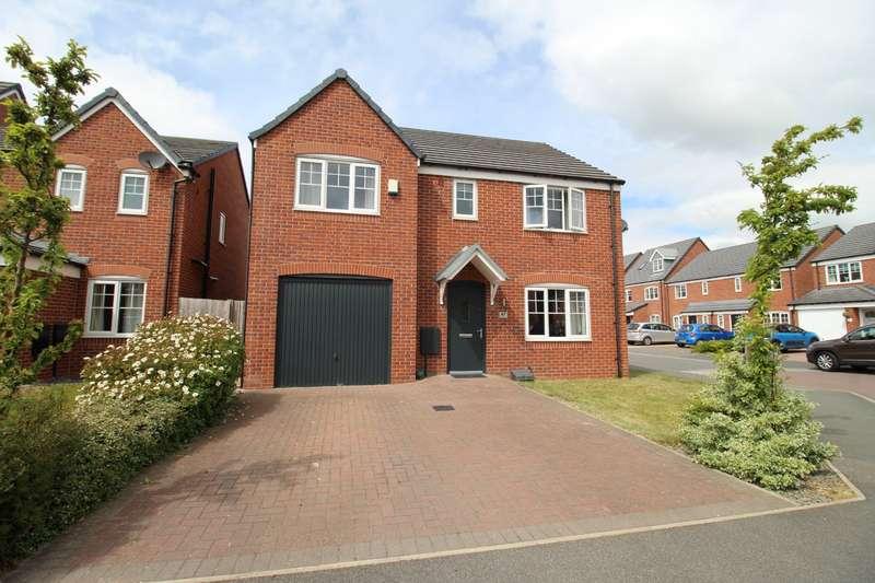 5 Bedrooms Detached House for sale in Walnutwood Avenue, Bamber Bridge, Preston, Lancashire, PR5