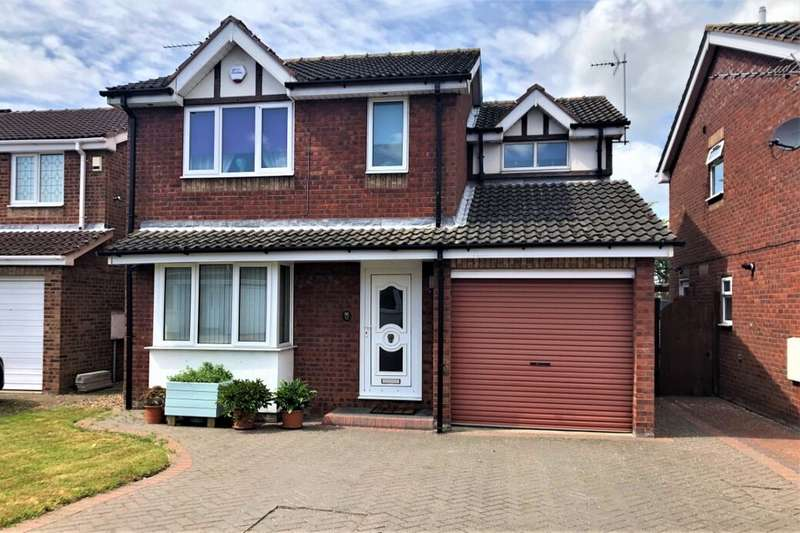 3 Bedrooms Detached House for sale in St. Andrews Way, Immingham, DN40