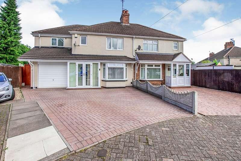 4 Bedrooms Semi Detached House for sale in Bates Grove, Wolverhampton, West Midlands, WV10