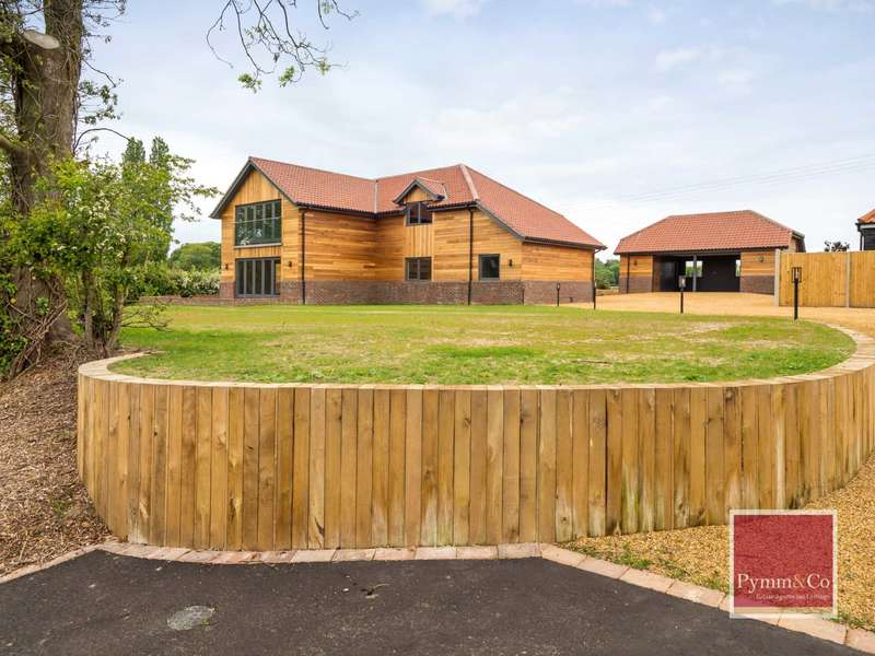 5 Bedrooms Detached House for sale in Bullacebush Lane, Blofield