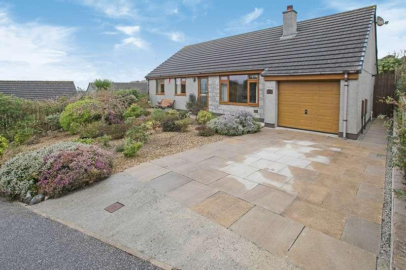 3 Bedrooms Detached Bungalow for sale in Hen Wythva, Camborne, Cornwall, TR14