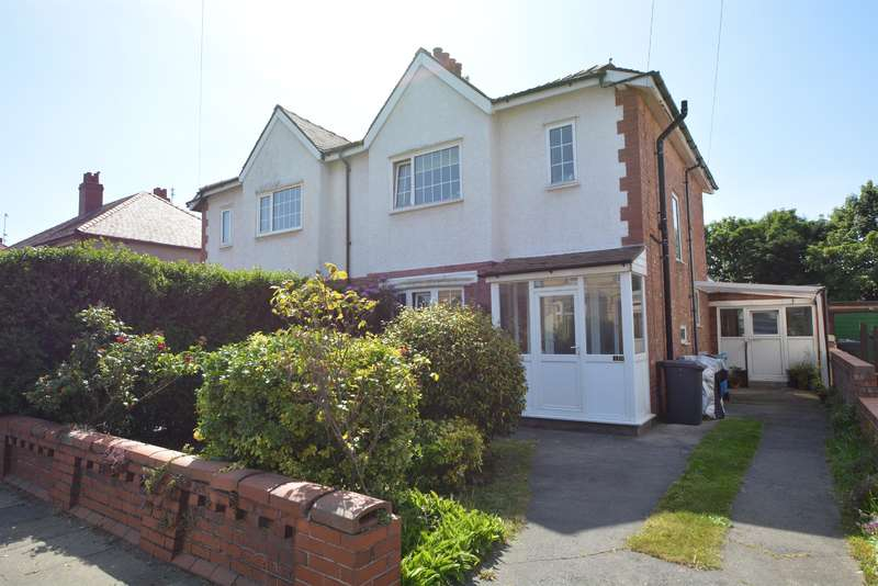 4 Bedrooms Semi Detached House for sale in Highbury Road East, Lytham St Annes, FY8 2RW