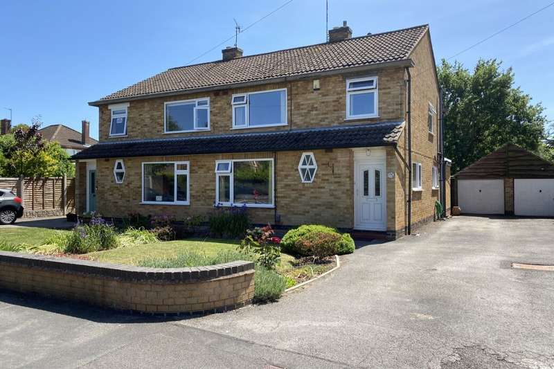 3 Bedrooms Semi Detached House for sale in Brooke Road, Kenilworth, CV8