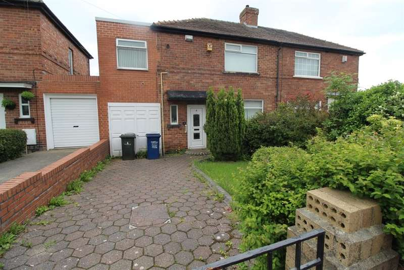 3 Bedrooms Semi Detached House for sale in Broomridge Avenue, Newcastle Upon Tyne, NE15 6QN