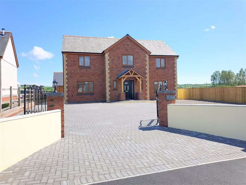 5 Bedrooms Detached House for sale in Spring Gardens, Whitland, Carmarthenshire