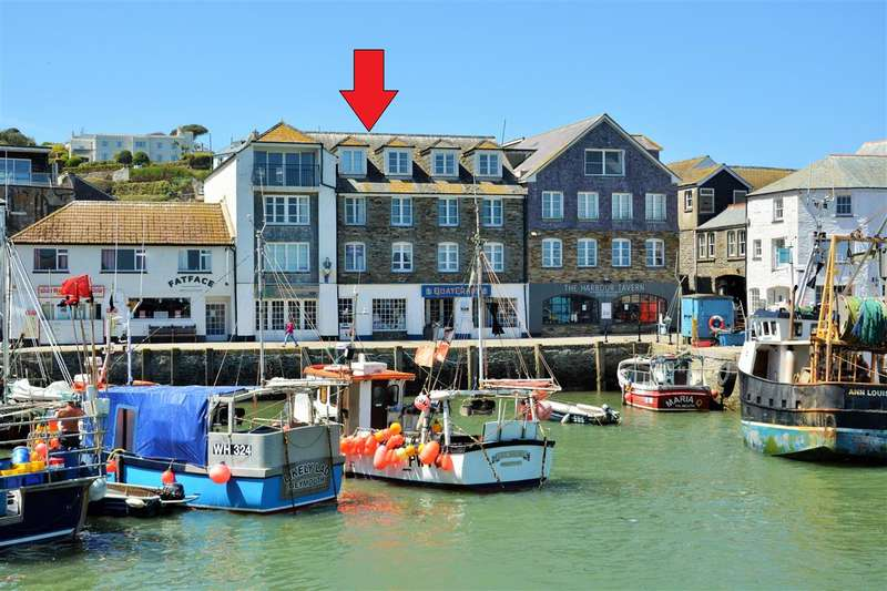 2 Bedrooms Apartment Flat for sale in Mevagissey, Cornwall. PL26