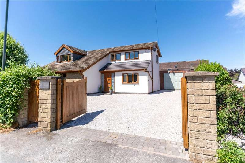 4 Bedrooms Detached House for sale in The Field, Shipley, Heanor, Derbyshire, DE75