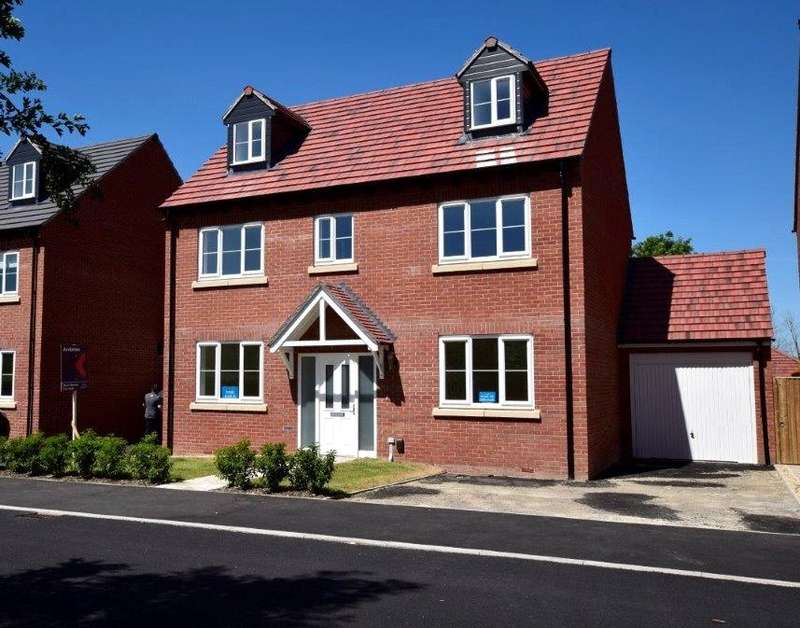 5 Bedrooms Detached House for sale in Plot 12a, New Dawn View, Gloucester, GL1