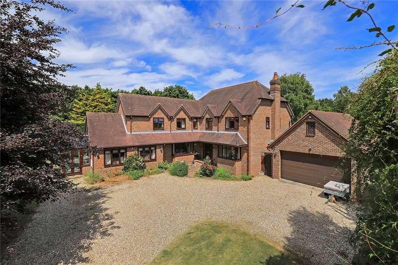 5 Bedrooms Detached House for sale in Balksbury Hill, Upper Clatford, Hampshire, SP11