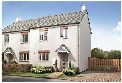2 Bedrooms Semi Detached House for sale in Tintagel, Cornwall