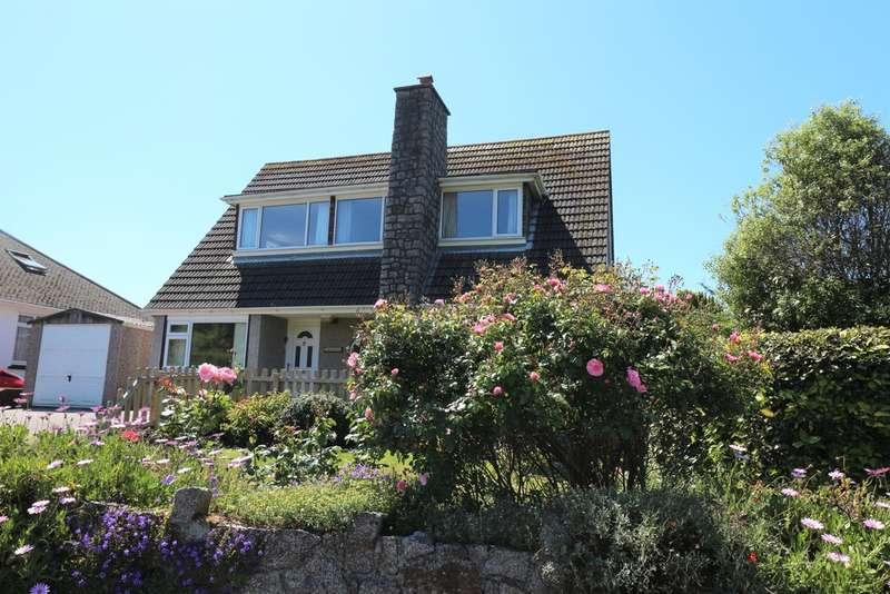 4 Bedrooms Detached House for sale in Reskadinnick Road, Camborne
