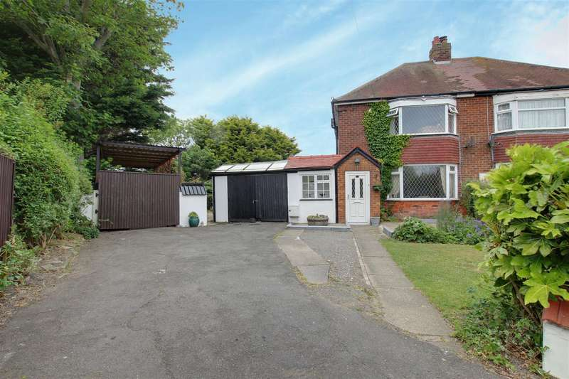 2 Bedrooms Semi Detached House for sale in Sherwood Road, Mablethorpe