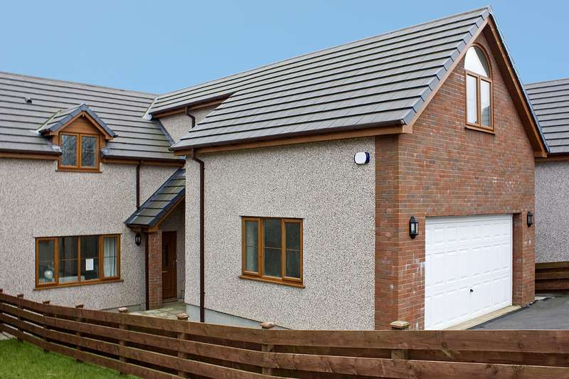 4 Bedrooms Semi Detached House for sale in Trecastell (Show Home), Bull Bay, Isle Of Anglesey, LL68