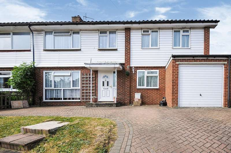 6 Bedrooms Semi Detached House for sale in Ruxton Close, Swanley, Kent, BR8